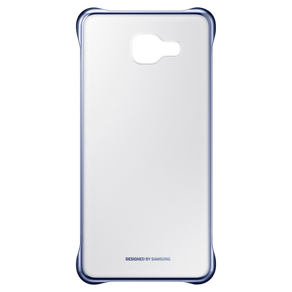 Купить Чехол-накладка Samsung Clear Cover для Galaxy A5 (2016) пластик (прозрачный/черный)