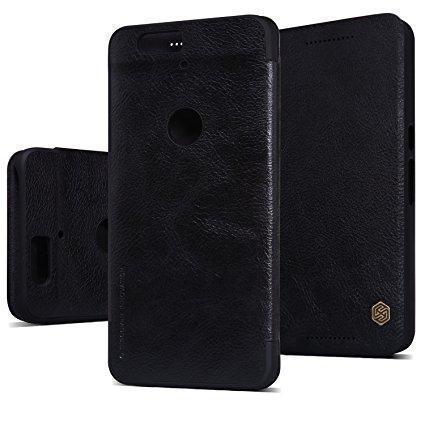 Чехол-книжка Nillkin QIN Leather Case для Google Pixel XL натуральная кожа черныйдля Google<br>Чехол-книжка Nillkin QIN Leather Case для Google Pixel XL натуральная кожа черный<br>