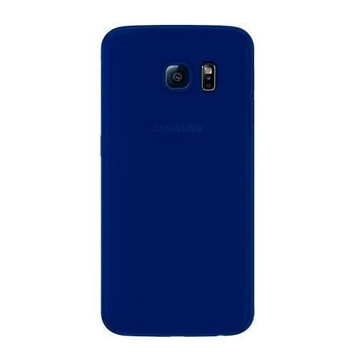 Чехол-накладка Deppa Sky Case для Samsung Galaxy S6 Edge (SM-G925) пластик синий + защитная пленкадля Samsung<br>Чехол-накладка Deppa Sky Case для Samsung Galaxy S6 Edge (SM-G925) пластик синий + защитная пленка<br>