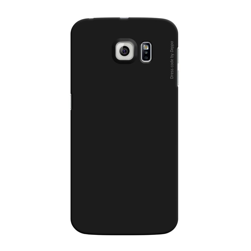 Купить Чехол-накладка Deppa Air Case для Samsung Galaxy S6 Edge (SM-G925) пластик (черный)