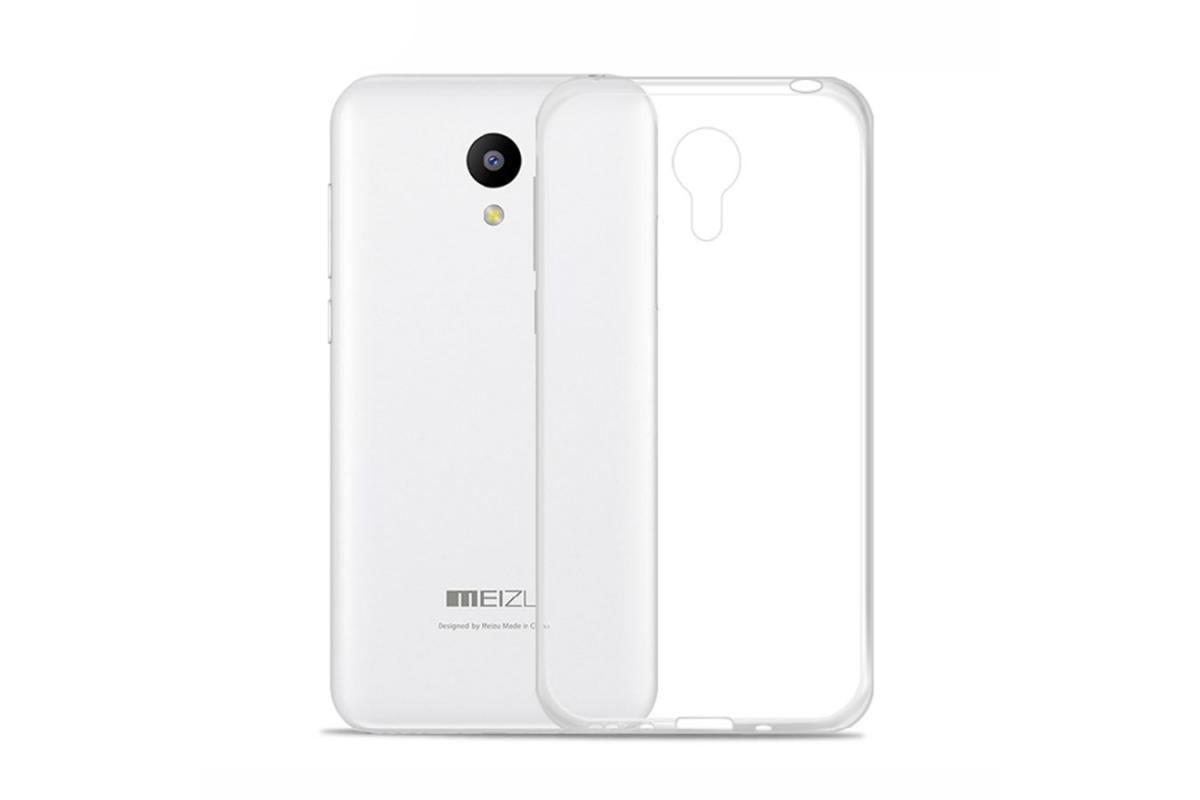 Чехол-накладка для Meizu M2 Note силиконовый прозрачныйдля Meizu<br>Чехол-накладка для Meizu M2 Note силиконовый прозрачный<br>