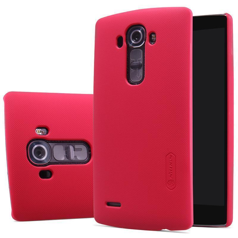 Чехол-накладка Nillkin Frosted Shield для LG G4 / H818 / H815 (пластиковый) Redдля LG<br>Чехол-накладка Nillkin Frosted Shield для LG G4 / H818 / H815 (пластиковый) Red<br>