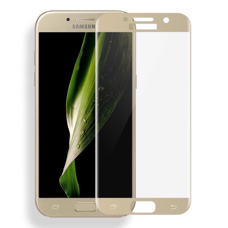 Защитное стекло Glass PRO (Full) Screen для Samsung Galaxy A7 (2016) SM-A710 цветное золотая рамкадля Samsung<br>Защитное стекло Glass PRO (Full) Screen для Samsung Galaxy A7 (2016) SM-A710 цветное золотая рамка<br>