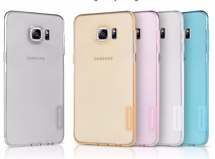 Чехол-накладка Nillkin Nature 0.6mm для Samsung Galaxy S6 Edge Plus SM-G928 прозрачно-черныйдля Samsung<br>Чехол-накладка Nillkin Nature 0.6mm для Samsung Galaxy S6 Edge Plus SM-G928 прозрачно-черный<br>