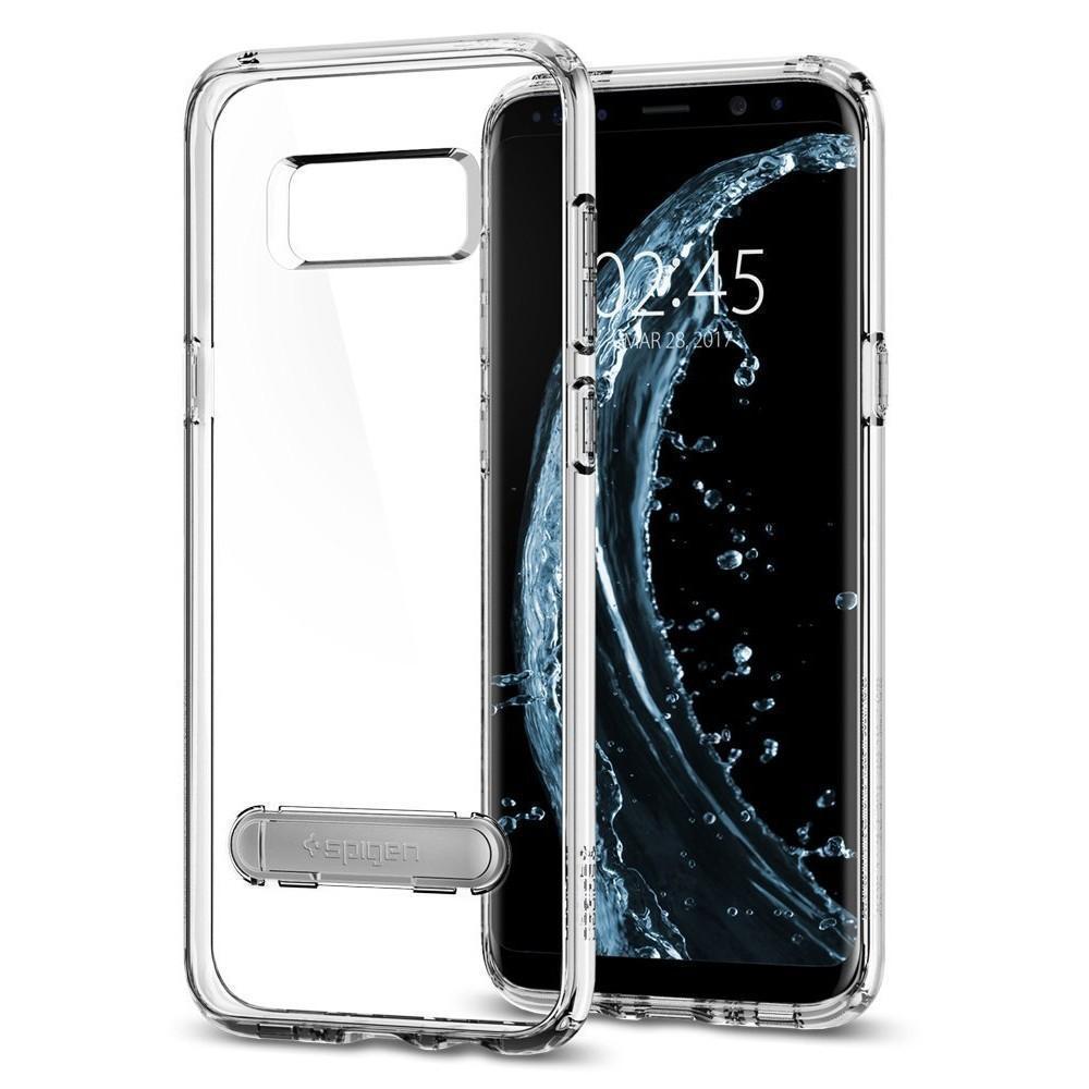Чехол-накладка Spigen Crystal Shell для Samsung Galaxy S8 кристально-прозрачный (SGP 565CS20828)для Samsung<br>Чехол-накладка Spigen Crystal Shell для Samsung Galaxy S8 кристально-прозрачный (SGP 565CS20828)<br>