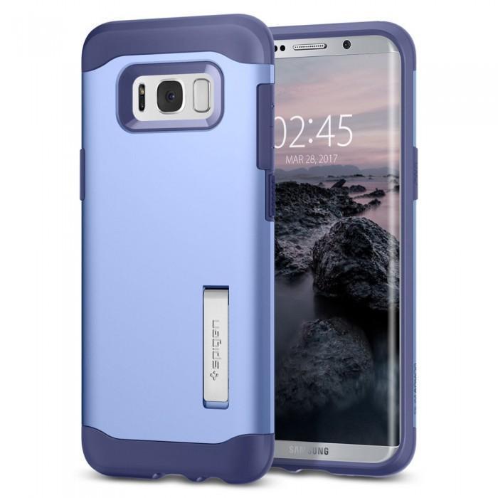 Чехол-накладка Spigen Slim Armor для Samsung Galaxy S8+ фиолетовый (SGP 571CS21124)для Samsung<br>Чехол-накладка Spigen Slim Armor для Samsung Galaxy S8+ фиолетовый (SGP 571CS21124)<br>