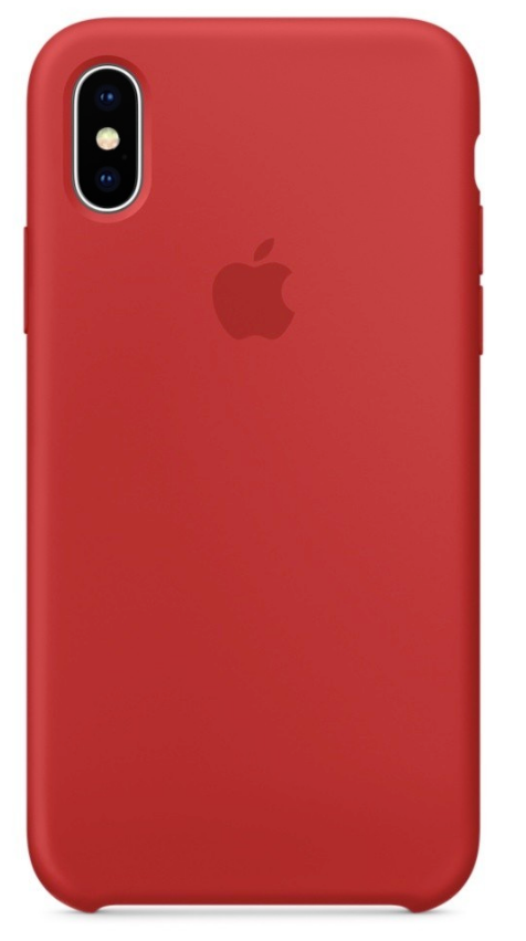 Купить Чехол-накладка Silicone Case Series для Apple iPhone XS Max (PRODUCT) Red