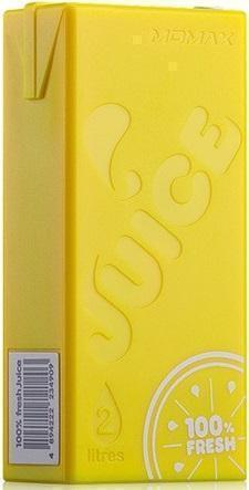 Универсальный внешний аккумулятор Momax iPower Juice 4400 mAh 1.5 А, USBx1 пласти желтыйUSBx1<br>Универсальный внешний аккумулятор Momax iPower Juice 4400 mAh 1.5 А, USBx1 пласти желтый<br>