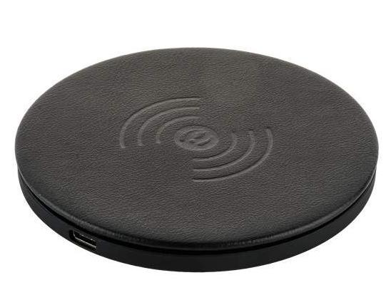 Купить Беспроводное зарядное устройство i-Carer (QX100-IWXC003bl) Microfiber Leather Fast Wireless Charging (5-9V/2A) черный