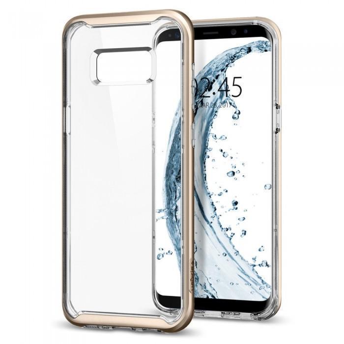 Чехол-накладка Spigen Neo Hybrid Crystal для Samsung Galaxy S8 золотой (SGP 565CS21603)для Samsung<br>Чехол-накладка Spigen Neo Hybrid Crystal для Samsung Galaxy S8 золотой (SGP 565CS21603)<br>