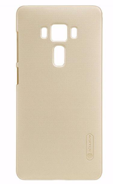 Чехол-накладка Nillkin Frosted Shield для Asus Zenfone 3 Deluxe ZS570KL пластиковый золотойдля ASUS<br>Чехол-накладка Nillkin Frosted Shield для Asus Zenfone 3 Deluxe ZS570KL пластиковый золотой<br>