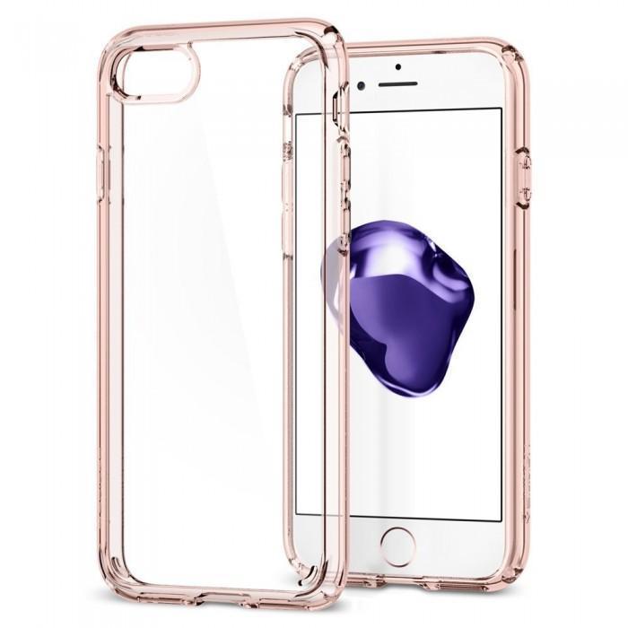 Чехол-накладка Spigen Ultra Hybrid 2 для Apple iPhone 7/8 резина Розовый (SGP 042CS20924)для iPhone 7/8<br>Чехол-накладка Spigen Ultra Hybrid 2 для Apple iPhone 7/8 резина Розовый (SGP 042CS20924)<br>
