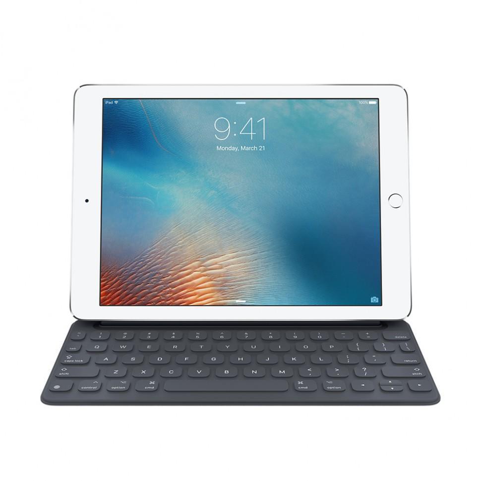 Чехол-клавиатура Apple Smart Keyboard для iPad Pro 12,9 русская (нейлон с подставкой) черныйдля Apple iPad Pro 12.9<br>Чехол-клавиатура Apple Smart Keyboard для iPad Pro 12,9 русская (нейлон с подставкой) черный<br>