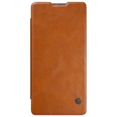Чехол-книжка Nillkin QIN Leather Case для Sony Xperia XA Ultra /Ultra Dual натуральная кожа коричнев