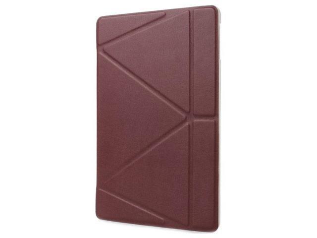 Чехол-книжка KWEICASE для Apple iPad Air (искусственная кожа с подставкой) коричневыйдля Apple iPad Air<br>Чехол-книжка KWEICASE для Apple iPad Air (искусственная кожа с подставкой) коричневый<br>