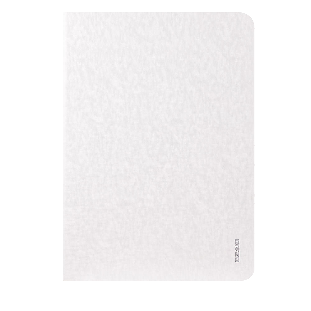 Чехол-книжка Ozaki O!coat Slim для Apple iPad Air (натуральная кожа с подставкой) белыйдля Apple iPad Air<br>Чехол-книжка Ozaki O!coat Slim для Apple iPad Air (натуральная кожа с подставкой) белый<br>
