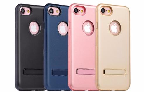 Чехол-накладка Hoco Simpleb Siries Pago для Apple iPhone 7/8 искусственная кожа темно-синый