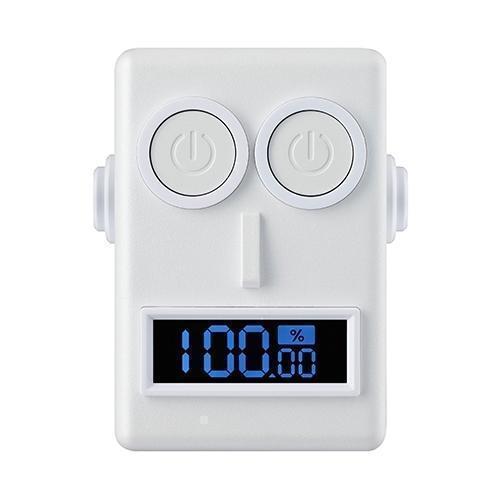 Универсальный внешний аккумулятор Ozaki O!tool Battery T52 5200 mAh 1 A / 2.1 А , USBx2 белыйУниверсальные внешние аккумуляторы<br>Универсальный внешний аккумулятор Ozaki O!tool Battery T52 5200 mAh 1 A / 2.1 А , USBx2 белый<br>