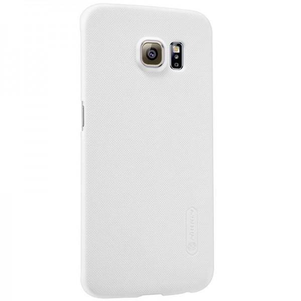 Чехол-накладка Nillkin Frosted Shield для Samsung Galaxy S6 Edge (SM-G925) пластиковый белыйдля Samsung<br>Чехол-накладка Nillkin Frosted Shield для Samsung Galaxy S6 Edge (SM-G925) пластиковый белый<br>