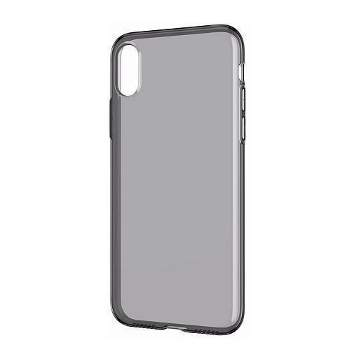 Чехол-накладка 0.3mm для Apple iPhone Xs Max силиконовый прозрачно-черный