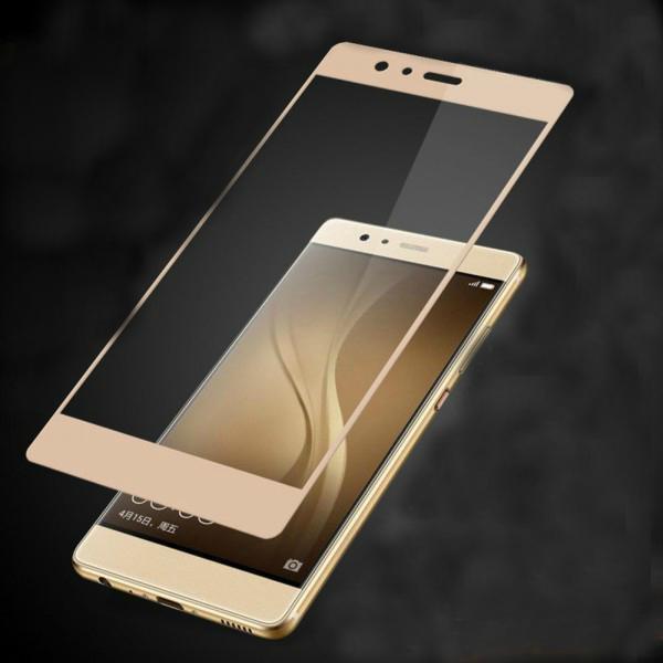 Защитное стекло Glass PRO (Full) Screen для Huawei P9 Plus цветное золотая рамкадля Huawei<br>Защитное стекло Glass PRO (Full) Screen для Huawei P9 Plus цветное золотая рамка<br>