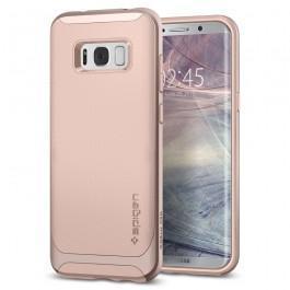 Чехол-накладка Spigen Neo Hybrid для Samsung Galaxy S8+ светло-розовый (SGP 571CS21653)для Samsung<br>Чехол-накладка Spigen Neo Hybrid для Samsung Galaxy S8+ светло-розовый (SGP 571CS21653)<br>