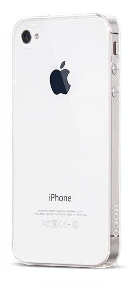 Чехол-накладка Hoco Light Series для Apple iPhone 4/4S силиконовый прозрачныйдля iPhone 4/4S<br>Чехол-накладка Hoco Light Series для Apple iPhone 4/4S силиконовый прозрачный<br>