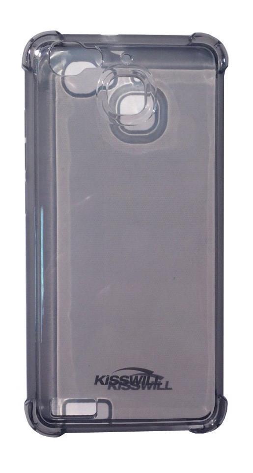 Чехол-накладка Jekod/KissWill для Huawei Ascend G8 Mini силиконовый (прозрачно-черный) фото
