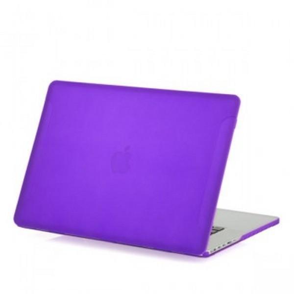 Чехол BTA-Workshop для Apple MacBook Pro 15 with Touch Bar Late (2016) матовый (прозрачно-фиолетовый) фото