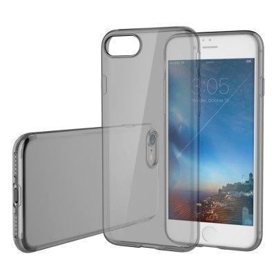 Купить со скидкой Чехол-накладка Rock Ultrathin TPU Slim Jacket для Apple iPhone 7/8 силиконовый прозрачно-черный