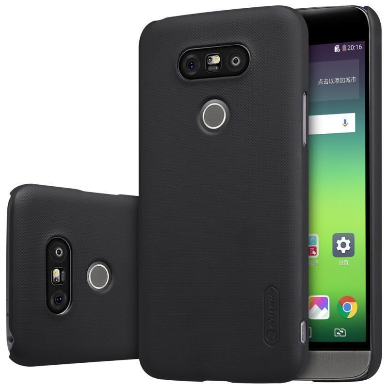 Чехол-накладка Nillkin Frosted Shield для LG G5 (H845/H850/H860N) пластиковый черныйдля LG<br>Чехол-накладка Nillkin Frosted Shield для LG G5 (H845/H850/H860N) пластиковый черный<br>