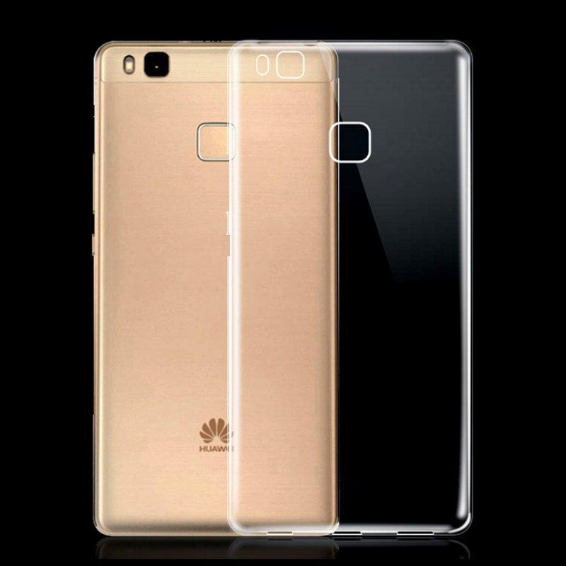 Чехол-накладка для Huawei Ascend G630 силиконовый прозрачно-белый