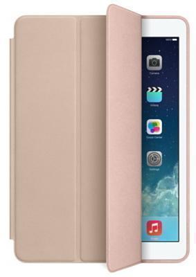 Чехол-книжка Apple Smart Case для Apple iPad Air (натуральная кожа с подставкой) бежевый MF048FE/Aдля Apple iPad Air<br>Чехол-книжка Apple Smart Case для Apple iPad Air (натуральная кожа с подставкой) бежевый MF048FE/A<br>
