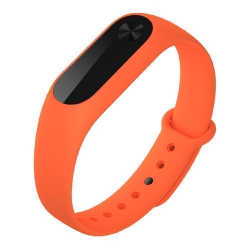 Ремешок силиконовый для фитнес трекера Xiaomi Mi Band 2 orangeРемешки и браслеты для умных часов и фитнес-браслетов Xiaomi<br>Ремешок силиконовый для фитнес трекера Xiaomi Mi Band 2 orange<br>