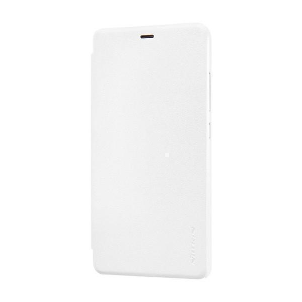 Чехол-книжка Nillkin Sparkle Series для Xiaomi Redmi Note 3 пластик-полиуретан (белый)для Xiaomi<br>Чехол-книжка Nillkin Sparkle Series для Xiaomi Redmi Note 3 пластик-полиуретан (белый)<br>