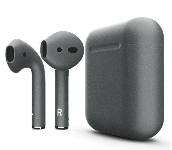 Купить Беспроводные Bluetooth cтерео-наушники Apple AirPods Matte Dark Gray
