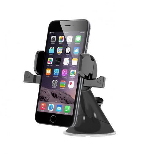 Держатель автомобильный Onetto One Touch Mini (GP6&amp;SM9) на стекло или торпеду для телефонаДержатель на стекло или торпеду<br>Держатель автомобильный Onetto One Touch Mini (GP6&amp;SM9) на стекло или торпеду для телефона<br>