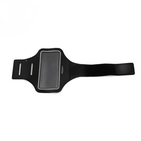 Спортивный-чехол на руку Rock Slim Sport Armband для Apple iPhone 7 Plus /6 Plus /6S Plus BlackУниверсальные, спортивные, водонепроницаемые<br>Спортивный-чехол на руку Rock Slim Sport Armband для Apple iPhone 7 Plus /6 Plus /6S Plus Black<br>