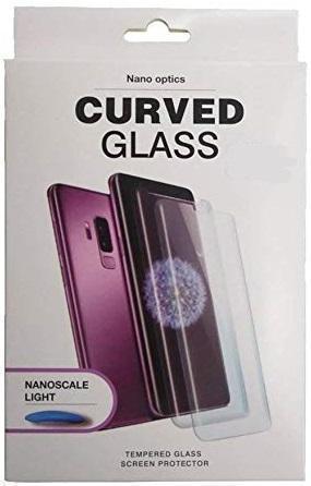 Купить Защитное стекло (Full Glue) Tempered Glass Nano Optics Curved для Samsung Galaxy S8+ (SM-G955F) (прозрачное антибликовое)