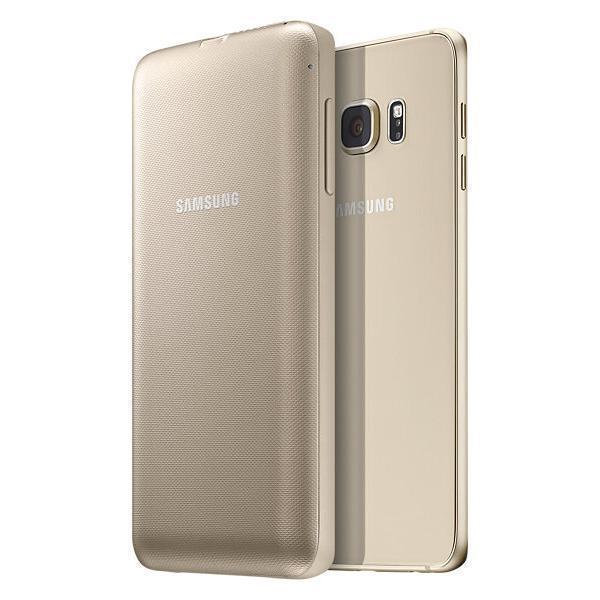 Чехол-аккумулятор Samsung 3400 mAh для Galaxy S6 Edge Plus пластик золотой (EP-TG928BFRGRU)для Samsung<br>Чехол-аккумулятор Samsung 3400 mAh для Galaxy S6 Edge Plus пластик золотой (EP-TG928BFRGRU)<br>