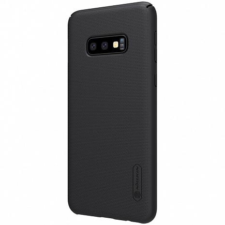 Чехол-накладка Nillkin Super Frosted Shield для Samsung Galaxy S10e SM-G970F пластиковый черный