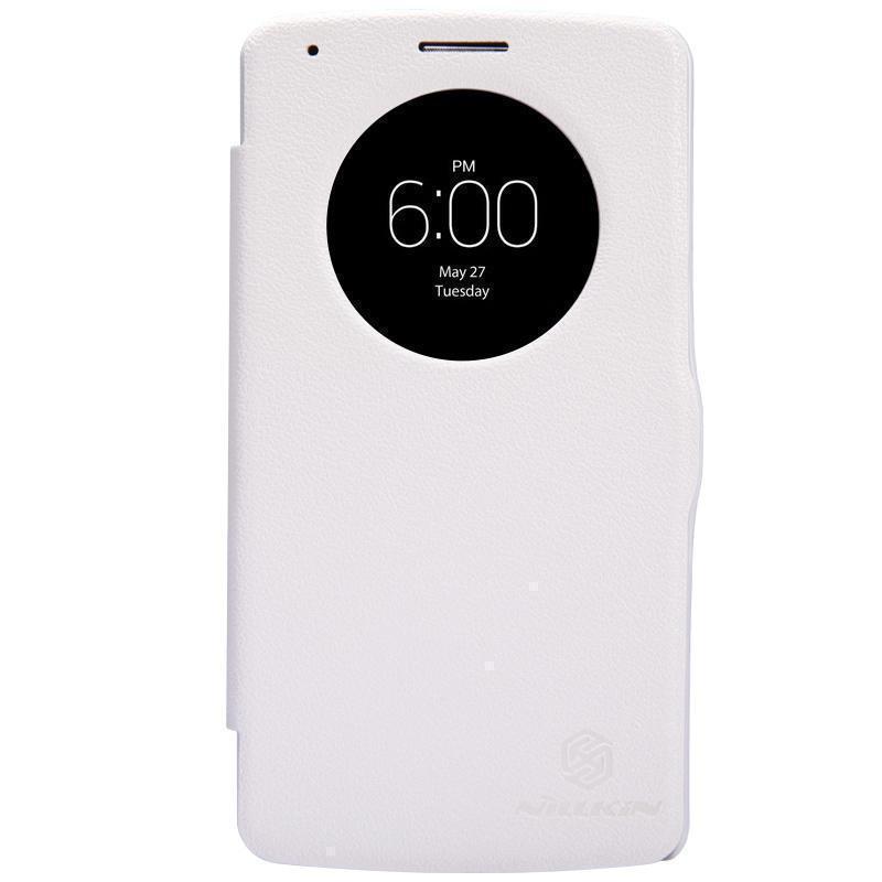 Чехол-книжка Nillkin Fresh Series для LG G3 Beat/G3s (722/724) натуральная кожа (белый)для LG<br>Чехол-книжка Nillkin Fresh Series для LG G3 Beat/G3s (722/724) натуральная кожа (белый)<br>