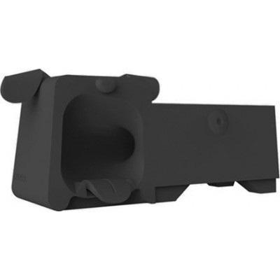 Подставка Аудиоусилитель Ozaki OM936GA O!Music Zoo Dog для Apple iPhone SE/5S/5 резиновая blackдля iPhone 5/5S/SE<br>Подставка Аудиоусилитель Ozaki OM936GA O!Music Zoo Dog для Apple iPhone SE/5S/5 резиновая black<br>