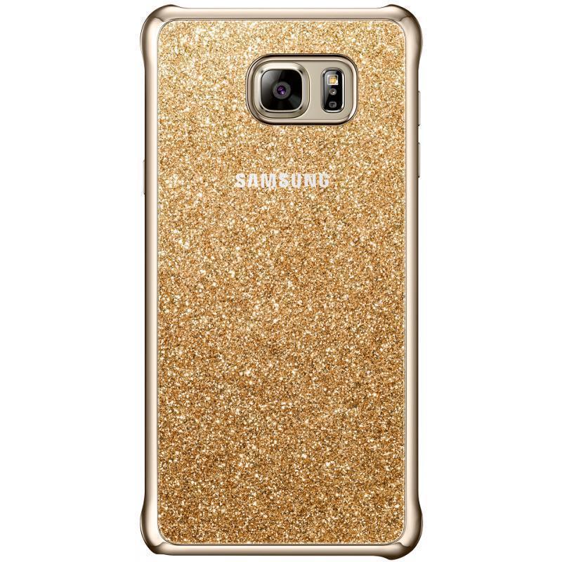 Чехол-накладка Samsung Glitter Cover для Galaxy Note 5 (EF-XN920CFEGRU) золотойдля Samsung<br>Чехол-накладка Samsung Glitter Cover для Galaxy Note 5 (EF-XN920CFEGRU) золотой<br>
