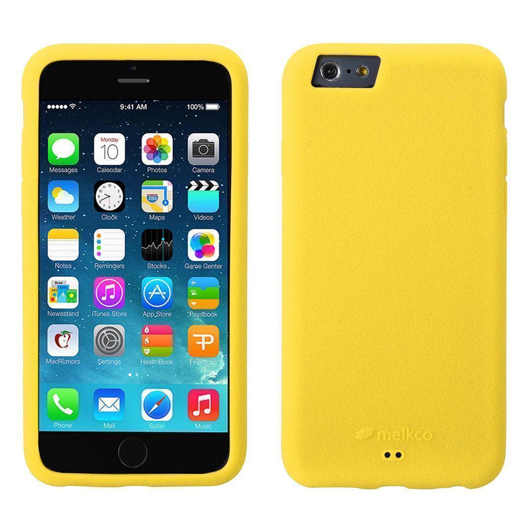 Чехол-накладка Melkco для Apple iPhone 6/6S силиконовый жёлтыйдля iPhone 6/6S<br>Чехол-накладка Melkco для Apple iPhone 6/6S силиконовый жёлтый<br>