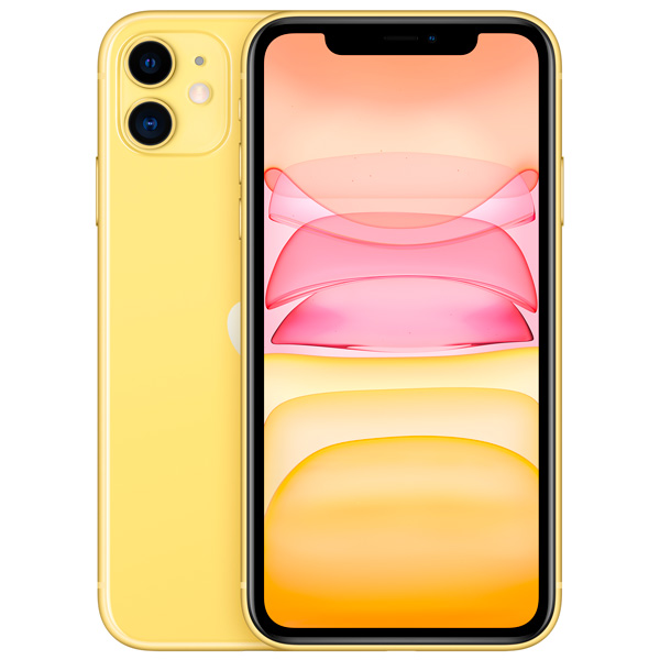 Apple iPhone 11 256Gb (Yellow) (MWMA2RU/A) фото