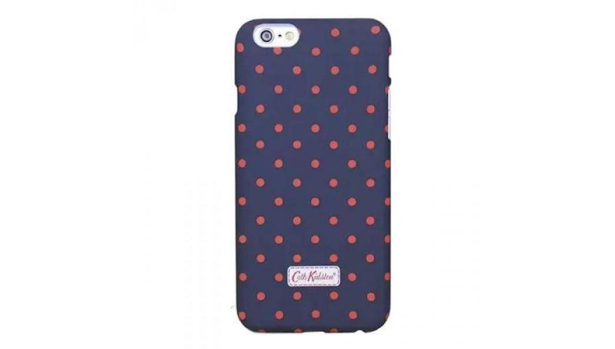 Чехол-накладка Cath Kidston для Apple iPhone 6 Plus/6S Plus темно-фиолетовая в горошекдля iPhone 6 Plus/6S Plus<br>Чехол-накладка Cath Kidston для Apple iPhone 6 Plus/6S Plus темно-фиолетовая в горошек<br>
