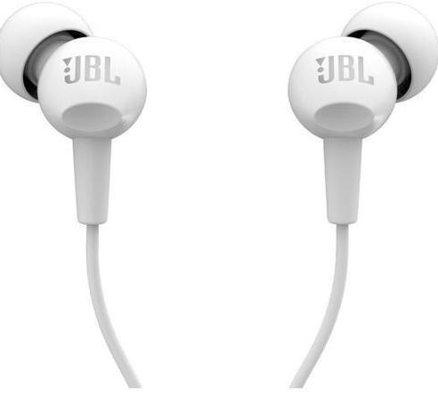 Проводная стерео-гарнитура JBL C100SI (White)