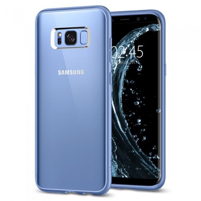 Чехол-накладка Spigen Ultra Hybrid для Samsung Galaxy S8+ голубой (SGP 571CS21681)для Samsung<br>Чехол-накладка Spigen Ultra Hybrid для Samsung Galaxy S8+ голубой (SGP 571CS21681)<br>