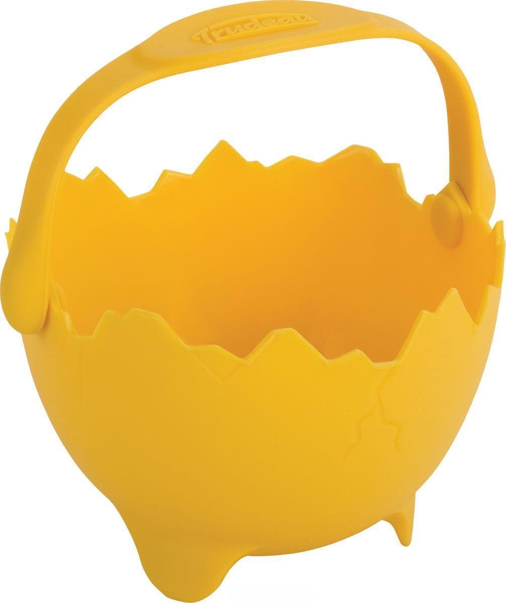 Trudeau Форма для яичницы «Скорлупка» силикон желтый фото